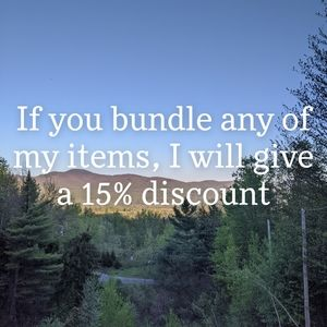 DISCOUNT FOR BUNDLES